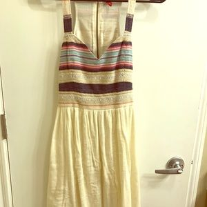 high low aztec dress